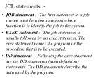 jcl statements