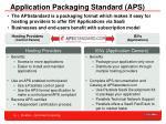 application packaging standard aps