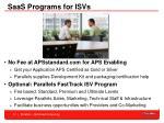 saas programs for isvs