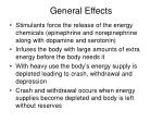 general effects