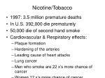 nicotine tobacco40