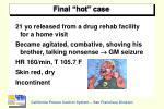 final hot case