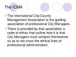the icma
