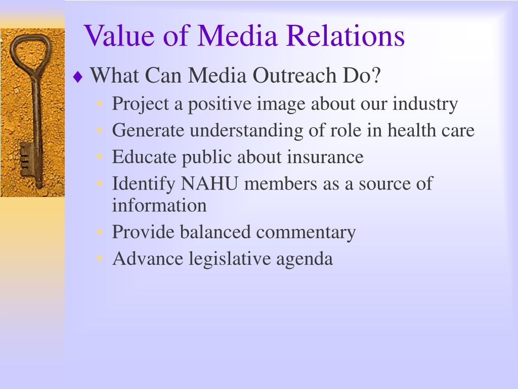 Value of Media Relations