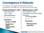 convergence in malaysia