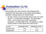 evaluation 1 4