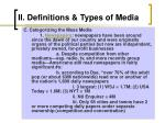 ii definitions types of media6