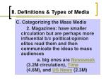 ii definitions types of media7