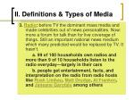 ii definitions types of media8