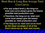 short run long run average total cost curves