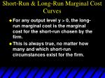 short run long run marginal cost curves80