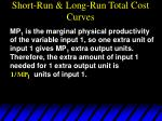 short run long run total cost curves48
