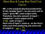 short run long run total cost curves50