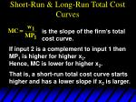 short run long run total cost curves52