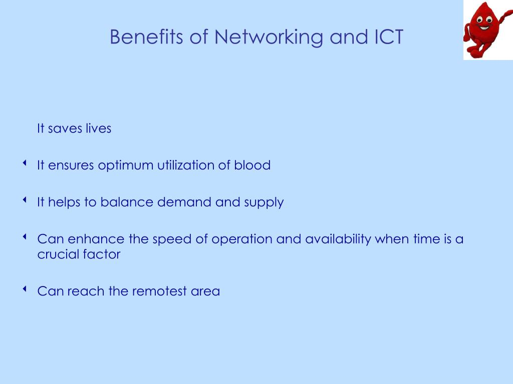 Benefits of Networking and ICT
