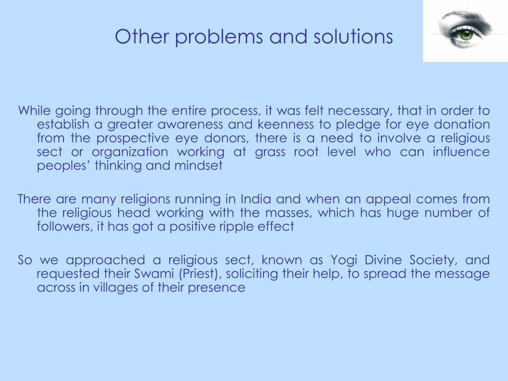 Other problems and solutions