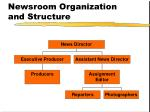 newsroom organization and structure26