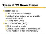 types of tv news stories126
