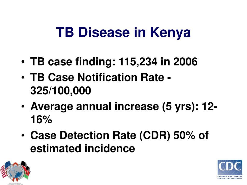 TB Disease in Kenya