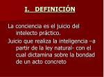 i definici n