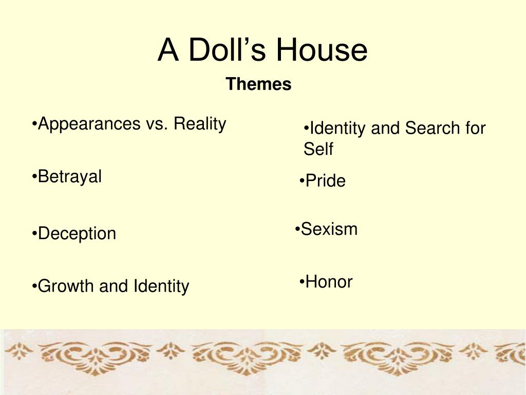 a fictional interview with nora helmer from ibsens a dolls house Norwegian playwright henrik ibsen wrote a doll house in the 1870s theatre convivio stages 'a doll house' tuesday nora helmer pretends to be a happy.