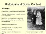 historical and social context10