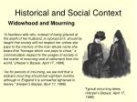 historical and social context12