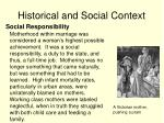 historical and social context5