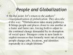 people and globalization19