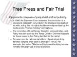 free press and fair trial39