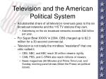 television and the american political system24