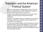television and the american political system25