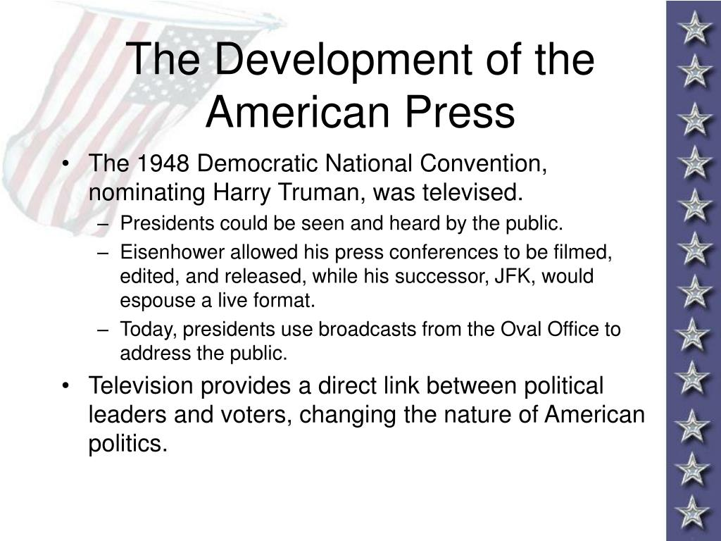 The Development of the American Press