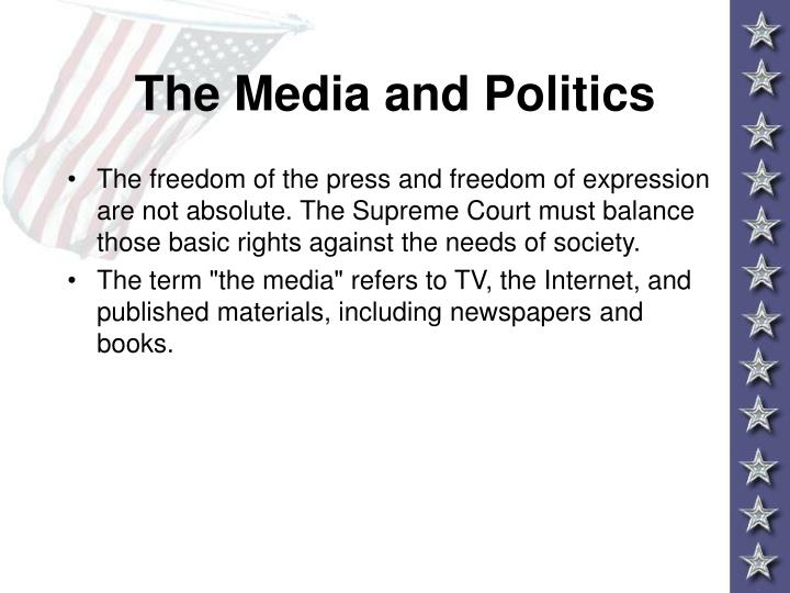 The media and politics3