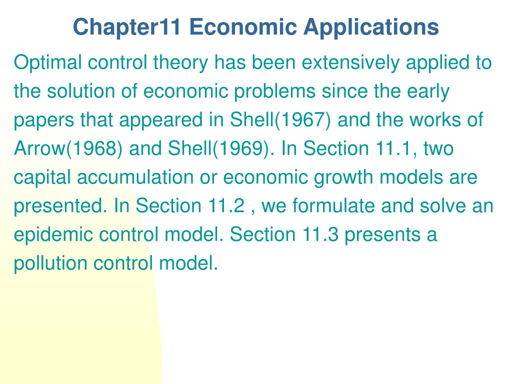 chapter11 economic applications l.