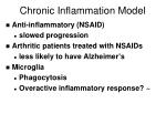 chronic inflammation model