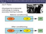 figure 1 8 pavlovian conditioning is widely used to study learning and memory in animals