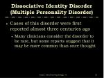 dissociative identity disorder multiple personality disorder51