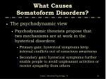 what causes somatoform disorders31