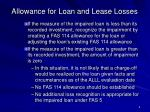 allowance for loan and lease losses9