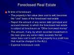 foreclosed real estate26