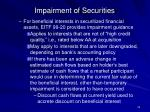 impairment of securities32