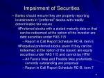 impairment of securities35