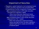 impairment of securities36