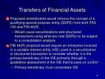 transfers of financial assets39