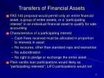 transfers of financial assets41