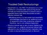 troubled debt restructurings19