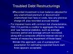 troubled debt restructurings22