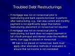 troubled debt restructurings24