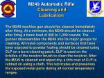 m249 automatic rifle cleaning and lubrication48